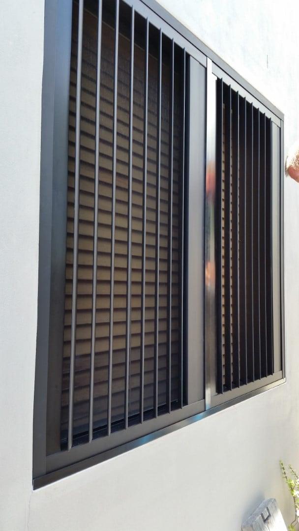 vertical blade shutters, Australian Plantation Shutters