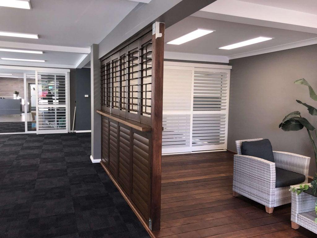 Bi fold shutters, Interior shutters