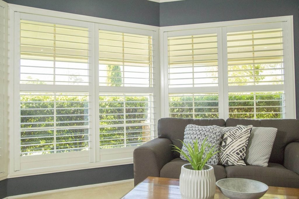 Bay Window Shutters, Plantation Shutters