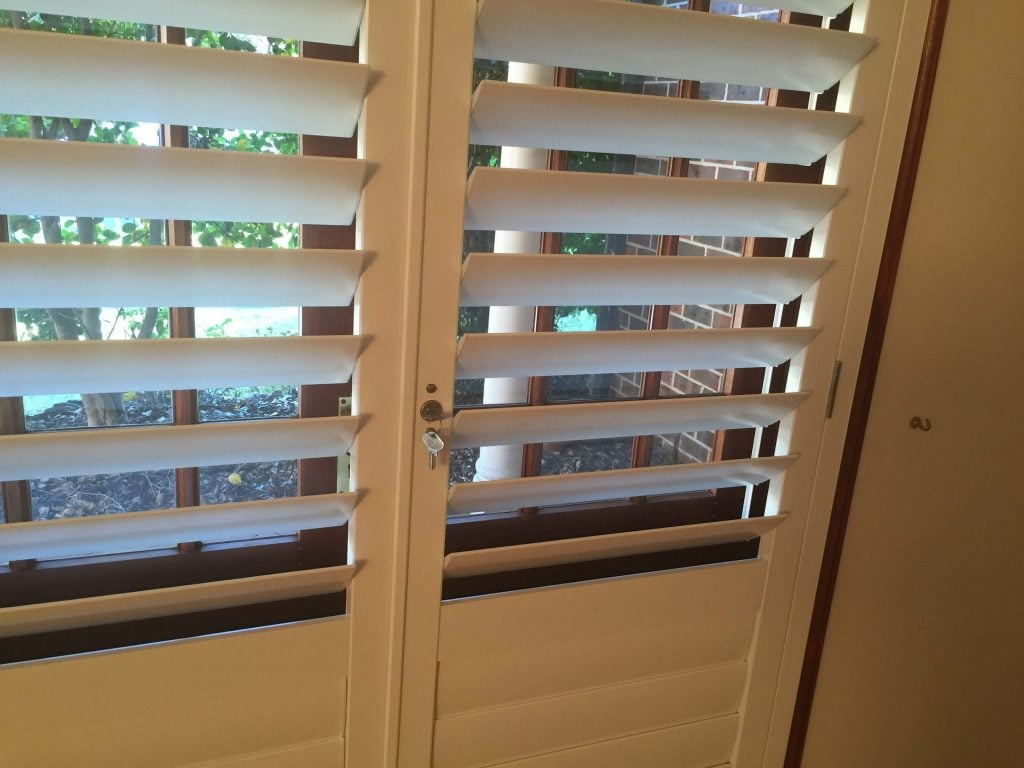Lockable Shutters, Plantation Shutters