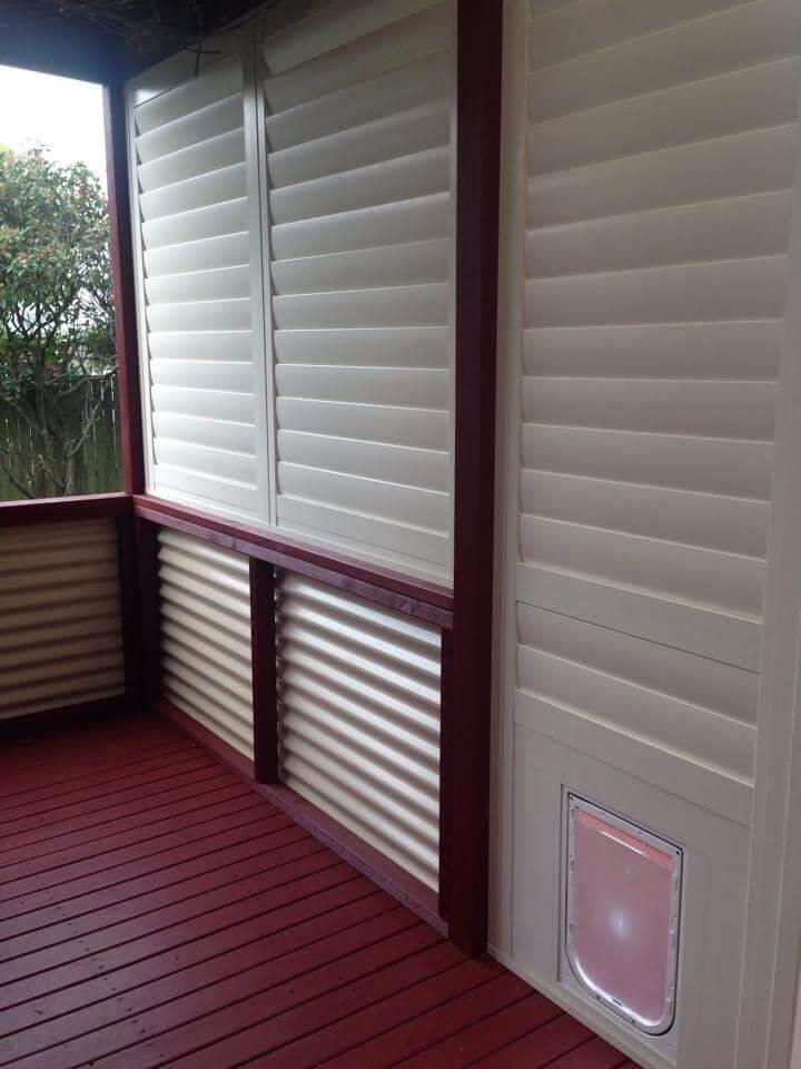Dog Doors, Custom Shutters, Australian Plantation Shutters