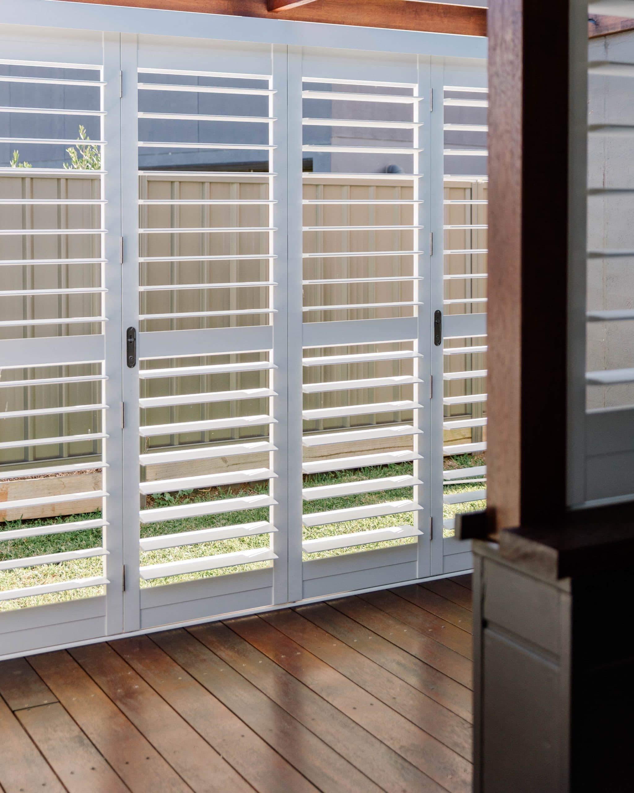 Bi Fold Exterior - external shutters