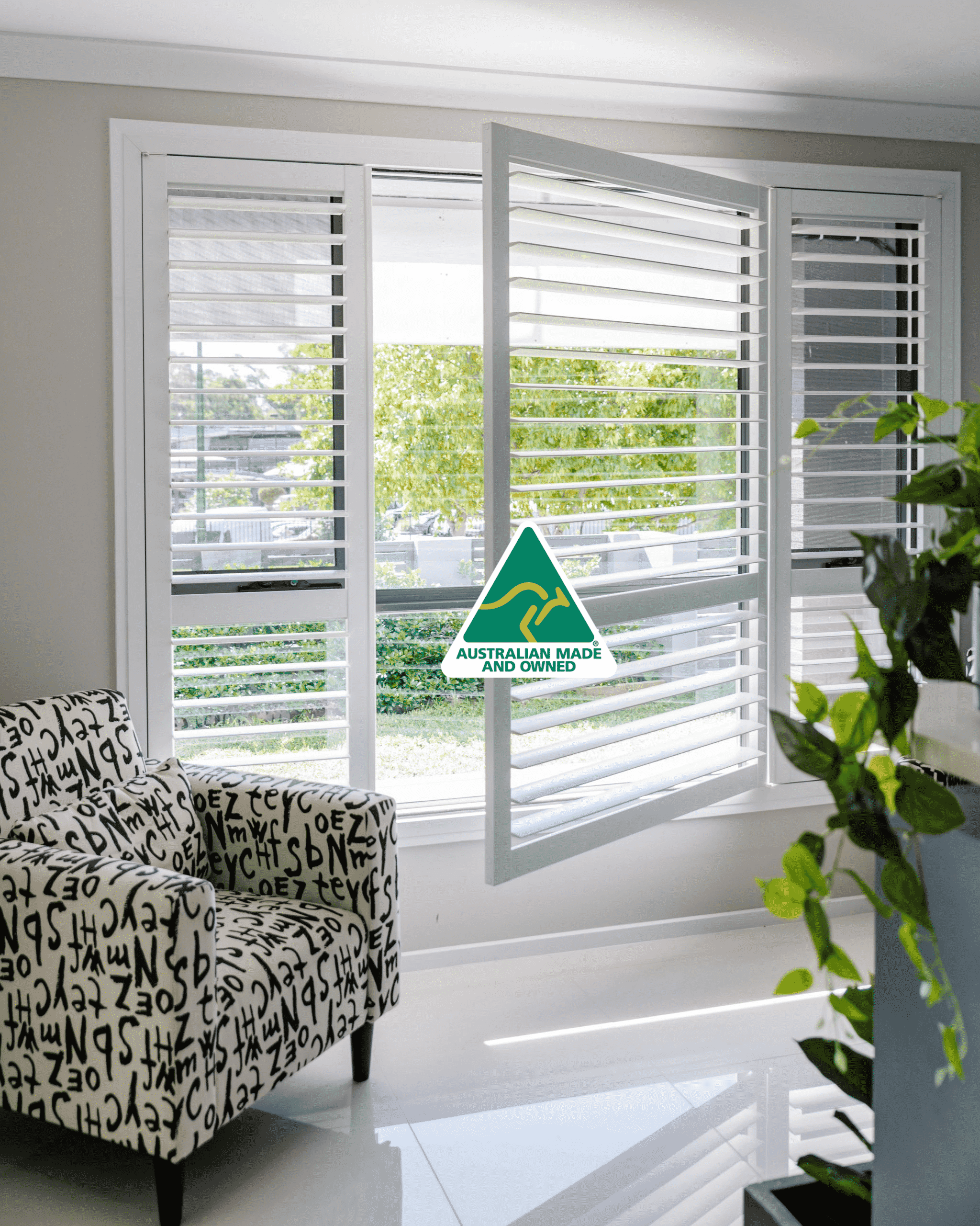 Aluminium Advantages - Plantation Shutters