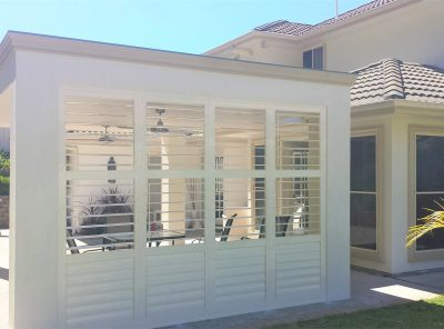 alfresco shutters, External Shutters, Plantation Shutters