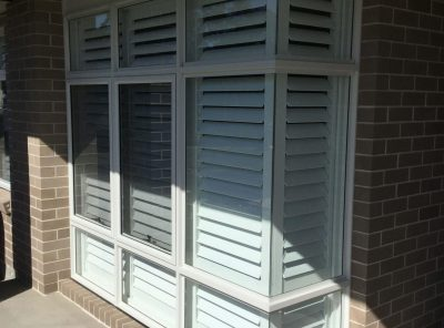 Corner Window Shutters, Interior Shutters, Plantation Shutters